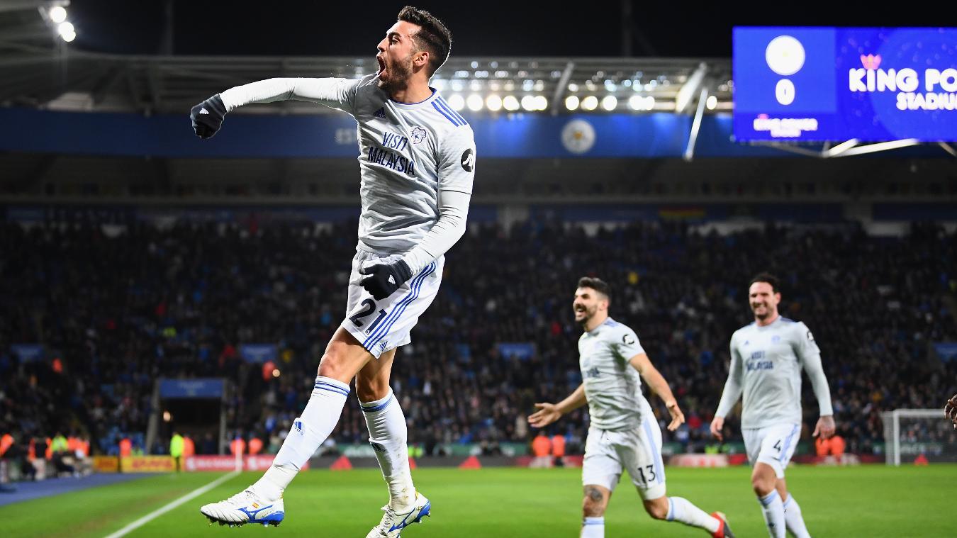 Leicester City 0-1 Cardiff City