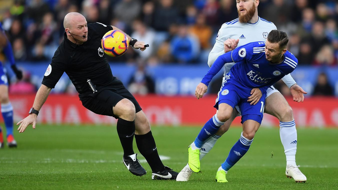 Leicester City 0-1 Cardiff City