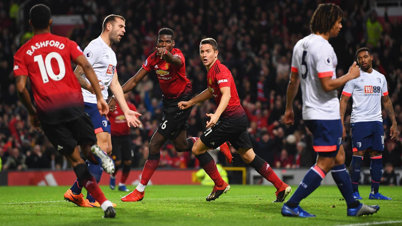 Manchester United 4-1 AFC Bournemouth