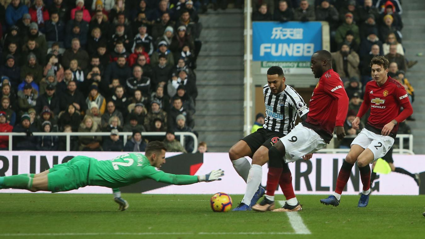 Newcastle United 0-2 Manchester United