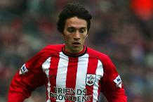 Flashback: Fernandes curls in for Saints against Everton