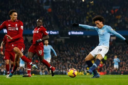 Man City V Liverpool 2018 19 Premier League