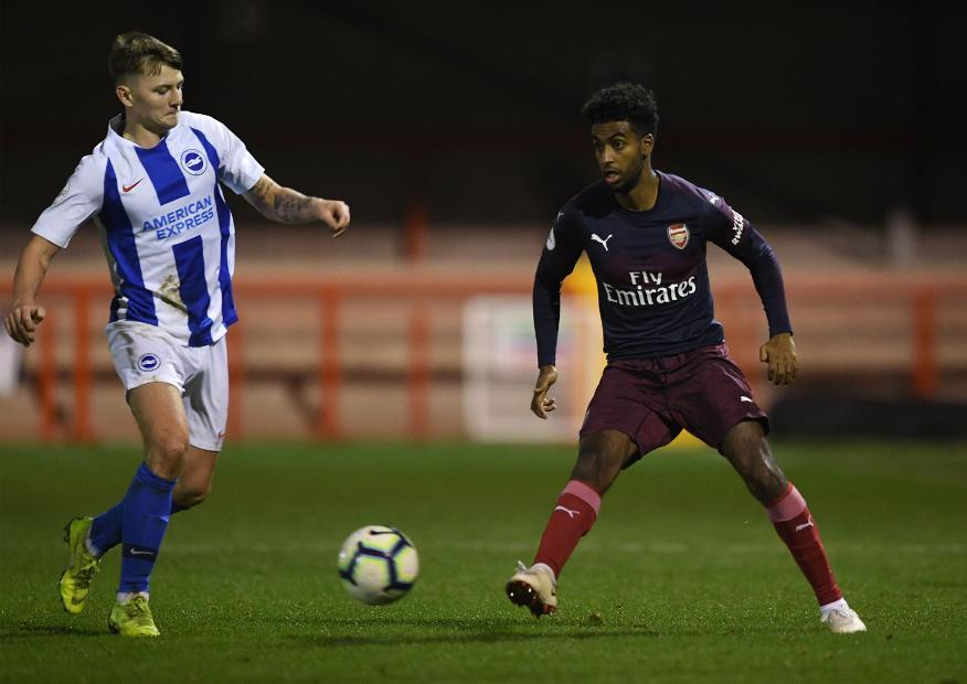 Gedion Zelalem, PL2 Brighton v Arsenal
