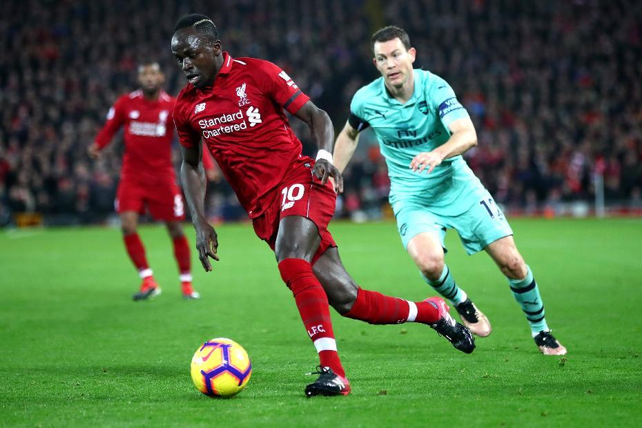 Sadio Mane, Liverpool v Arsenal