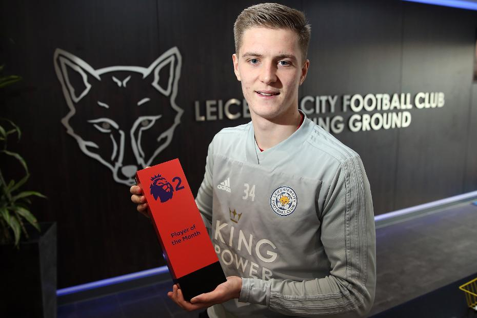 Josh Knight Leicester City, PL2 Player of the Month