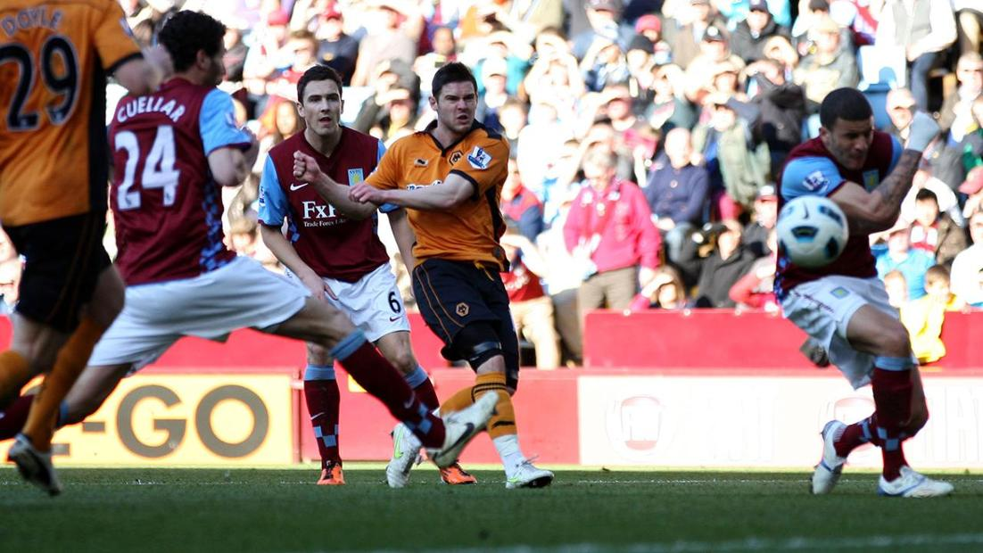 Goal of the day: Superb Jarvis volley for Wolves