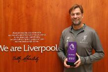 Klopp earns Barclays Manager of the Month award