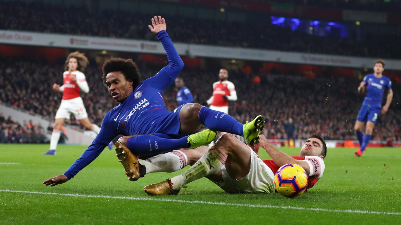 Arsenal 2-0 Chelsea