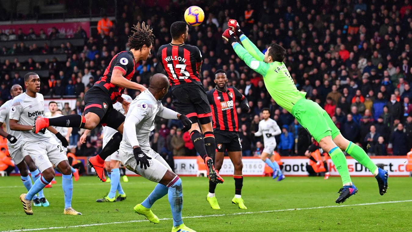 AFC Bournemouth 2-0 West Ham United
