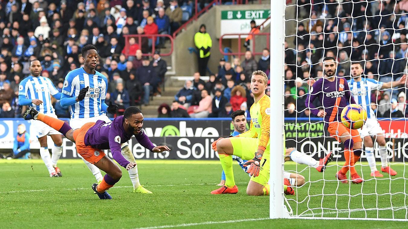 Huddersfield Town 0-3 Manchester City