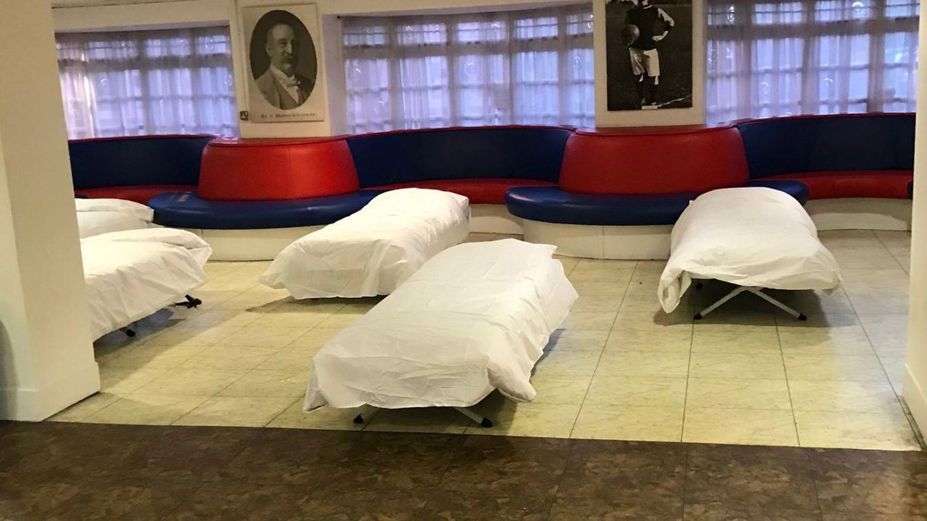 Selhurst Park homeless beds