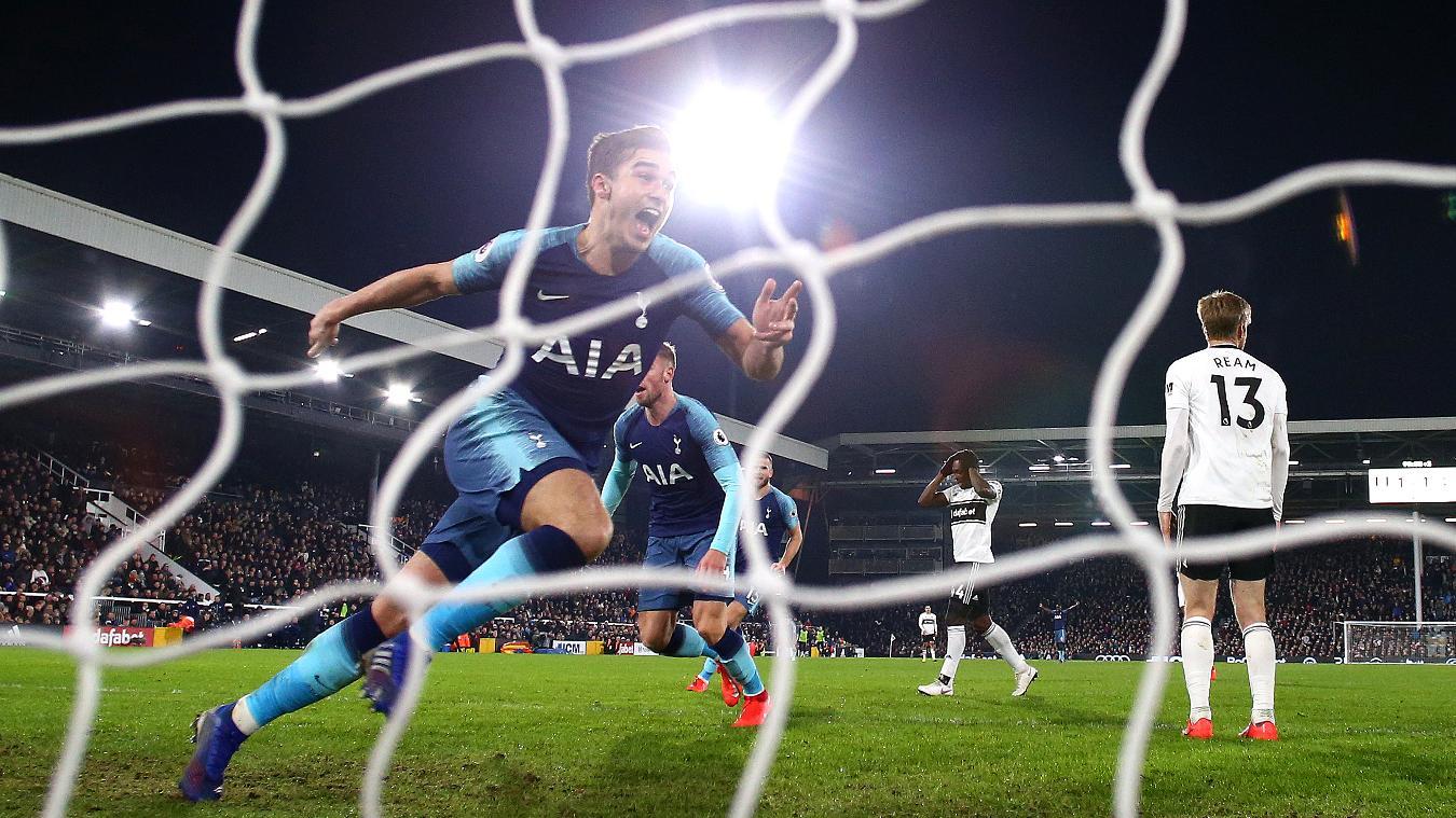 Fulham 1-2 Tottenham Hotspur