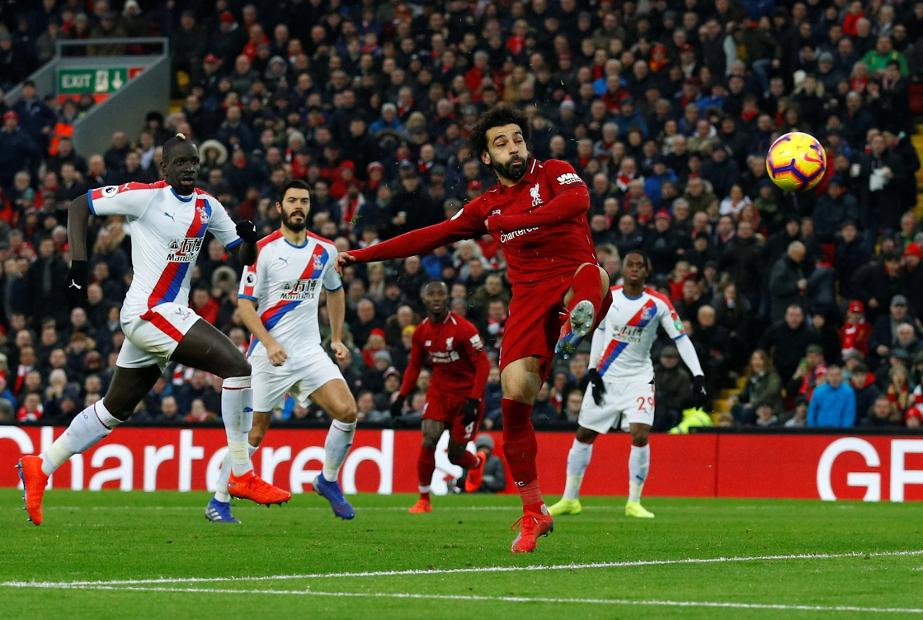 Mohamed Salah goal v Palace