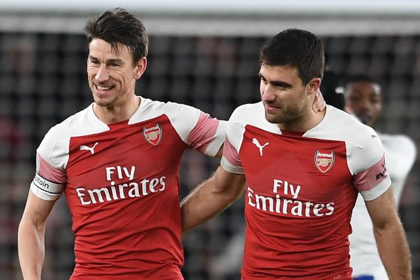 Koscielny and Sokratis