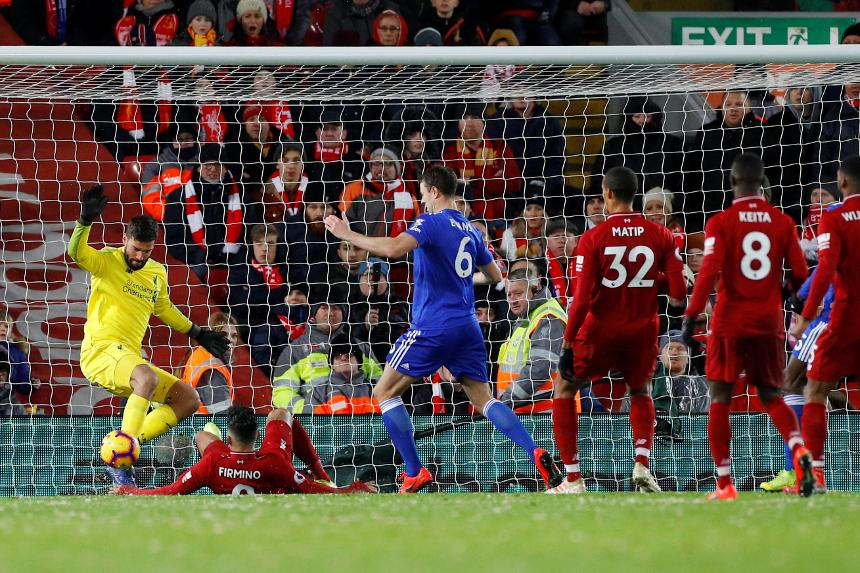 Liverpool v Leicester City