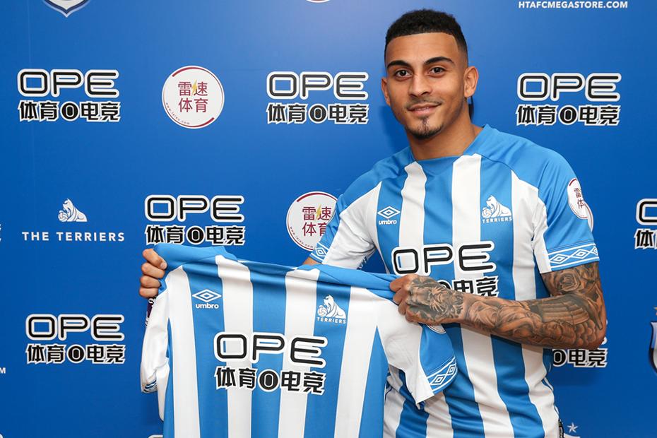 New Huddersfield Town signing Karlan Grant