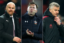 January's Barclays Manager of the Month contenders