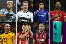 Carling Goal of the Month nominees for January