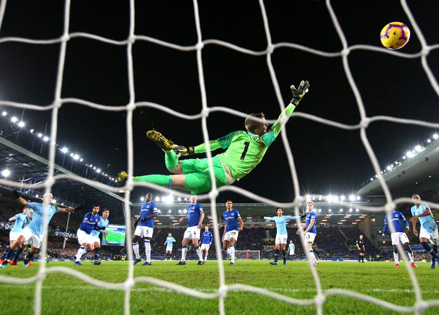 Everton 0-2 Manchester City