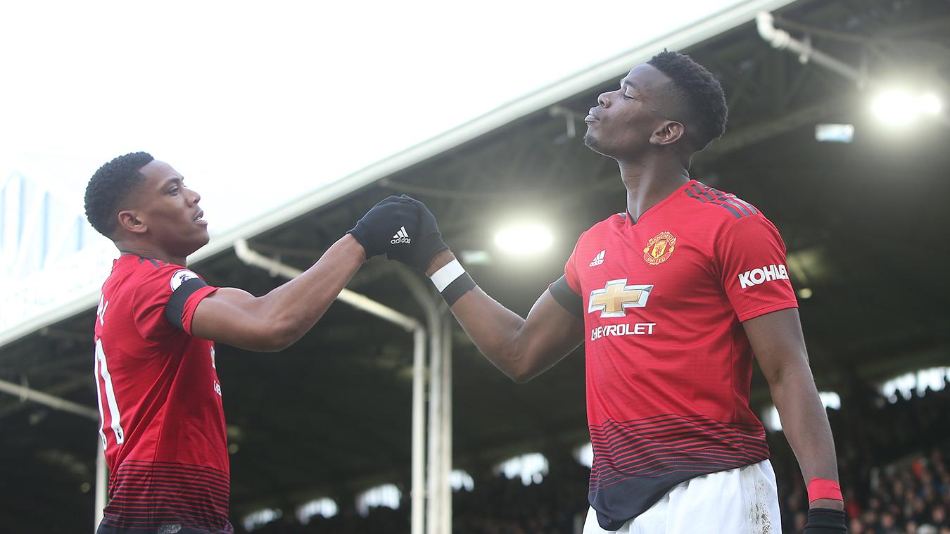 Fulham 0-3 Manchester United