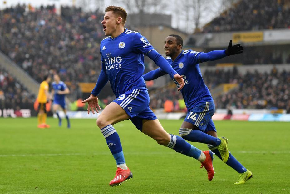 Harvey Barnes and Ricardo Pereira, Leicester City