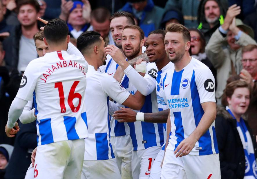 Battle for safety: Brighton & Hove Albion
