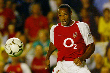 Best foreign strikers: Thierry Henry