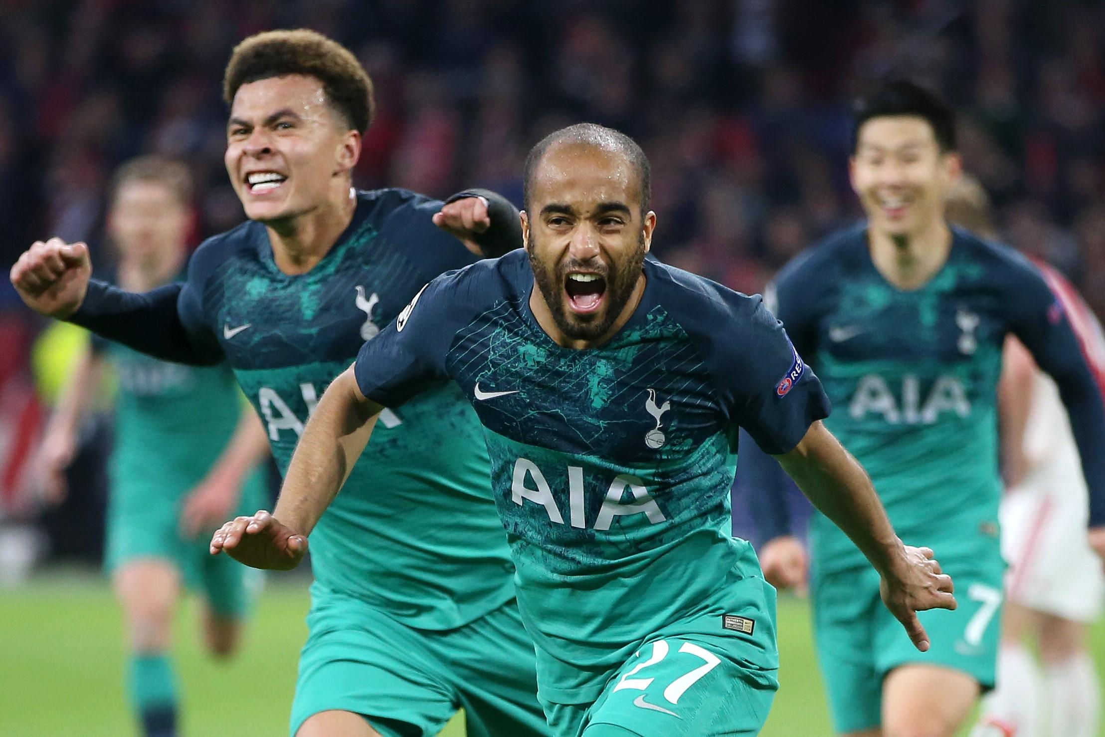 Tottenham HotspurLucas Moura Home Jersey