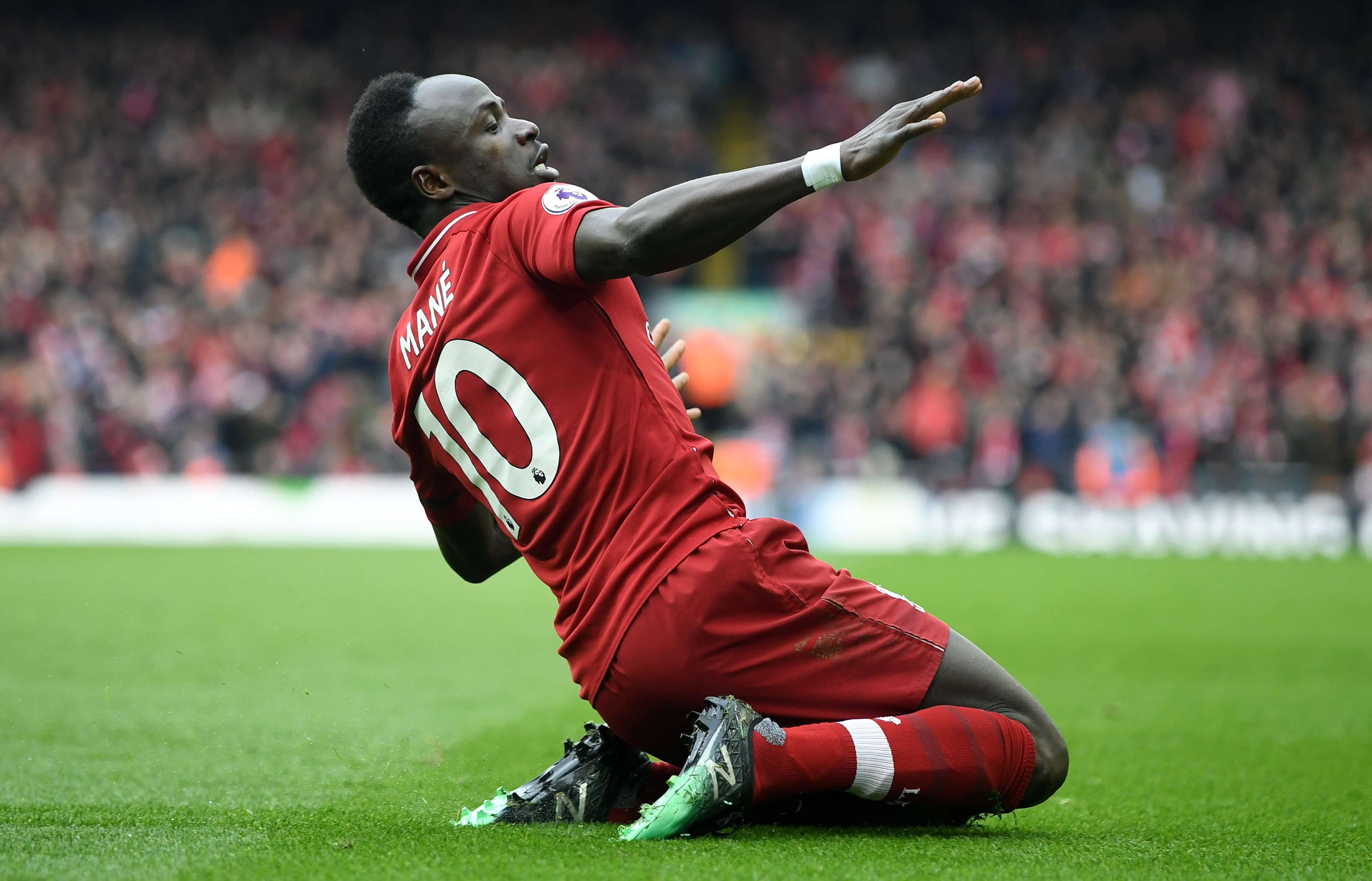 Golden Boot: Mane taking central role for Liverpool