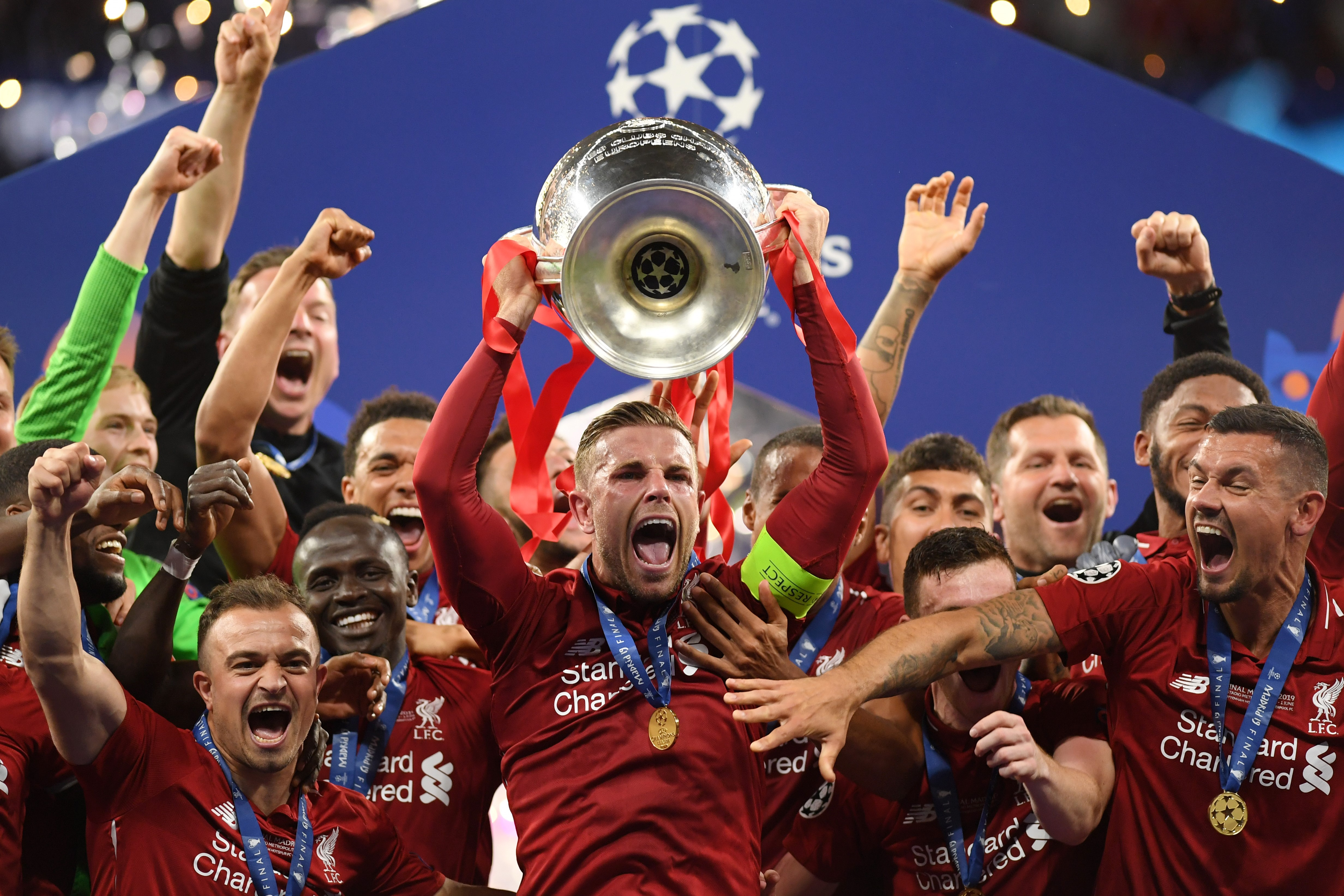 Liverpool Beat Spurs To Win Champions League