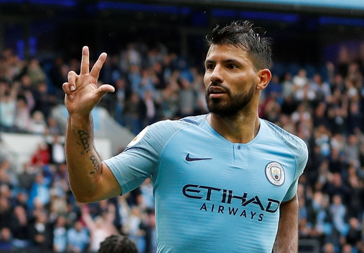 Aguero eyes records on opening weekend