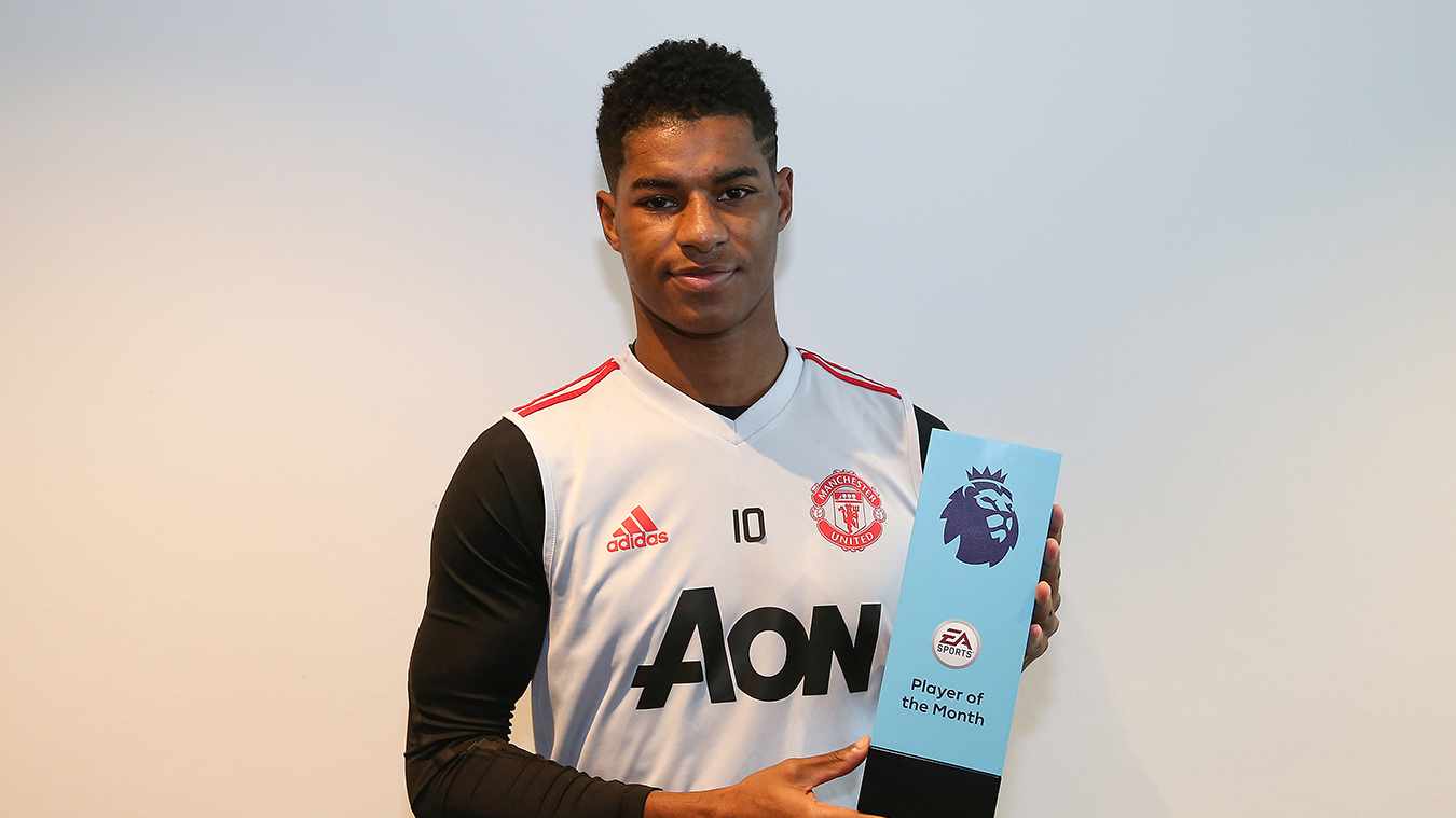 Rashford Named January 2019 EA SPORTS Player Of The Month