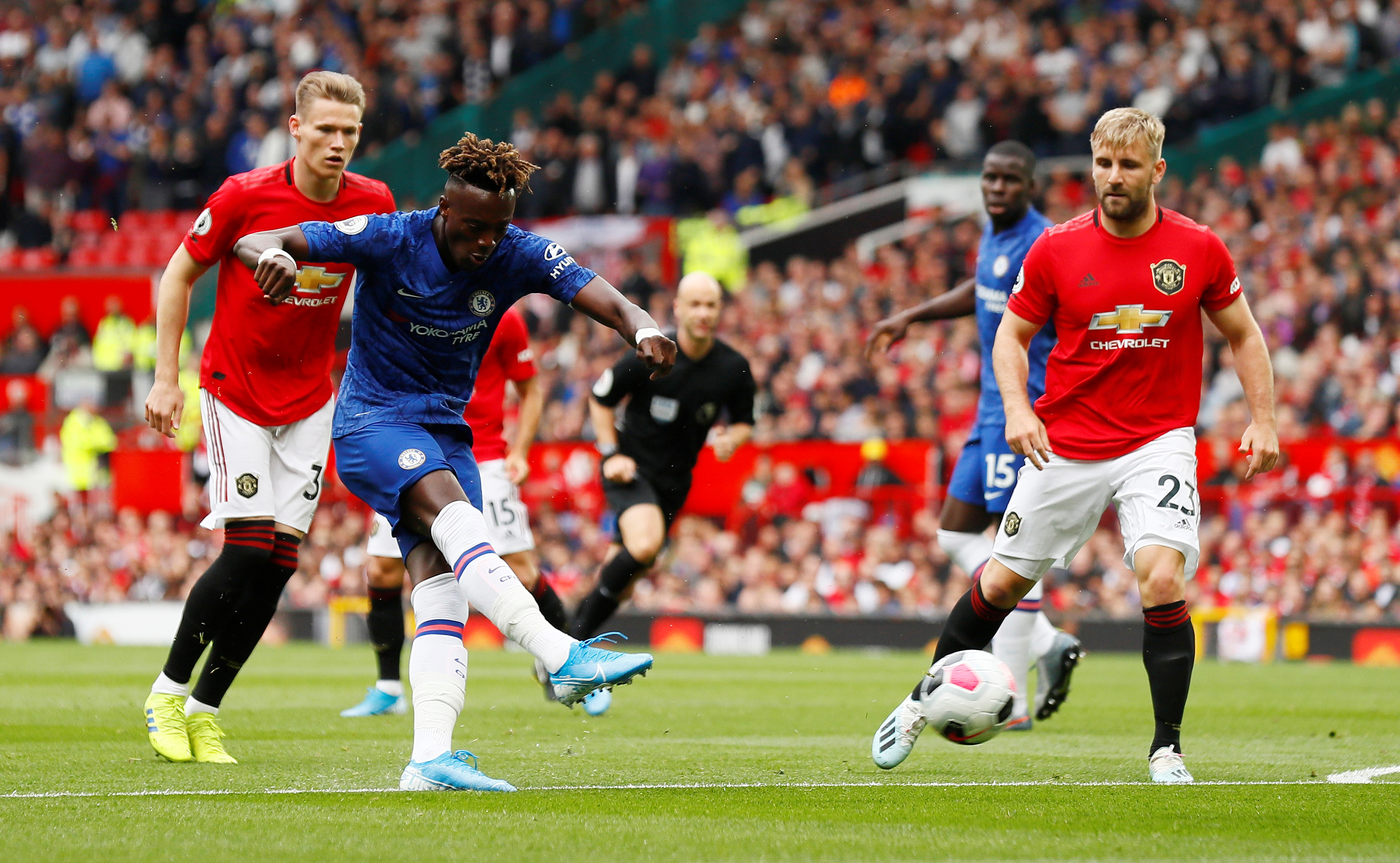 Chelsea v Man Utd: Top-four rivals go head-to-head