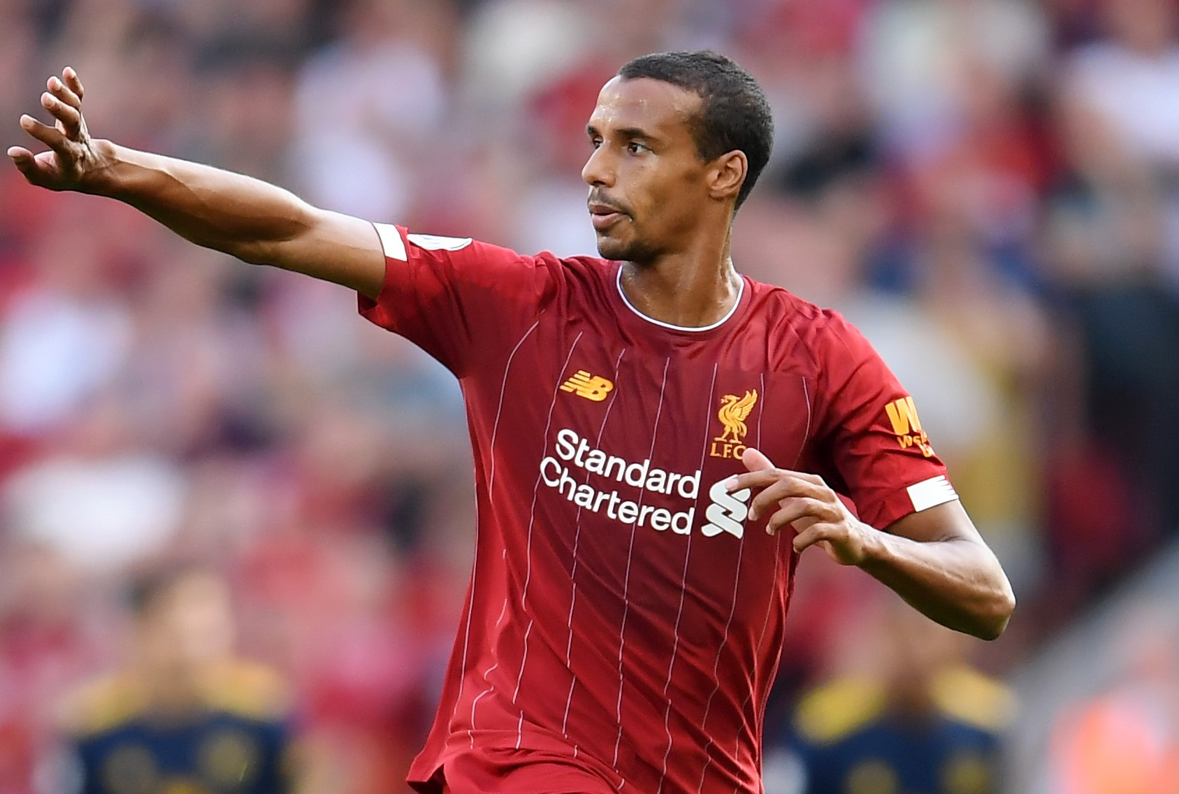 Matip growing in stature in Liverpool defence