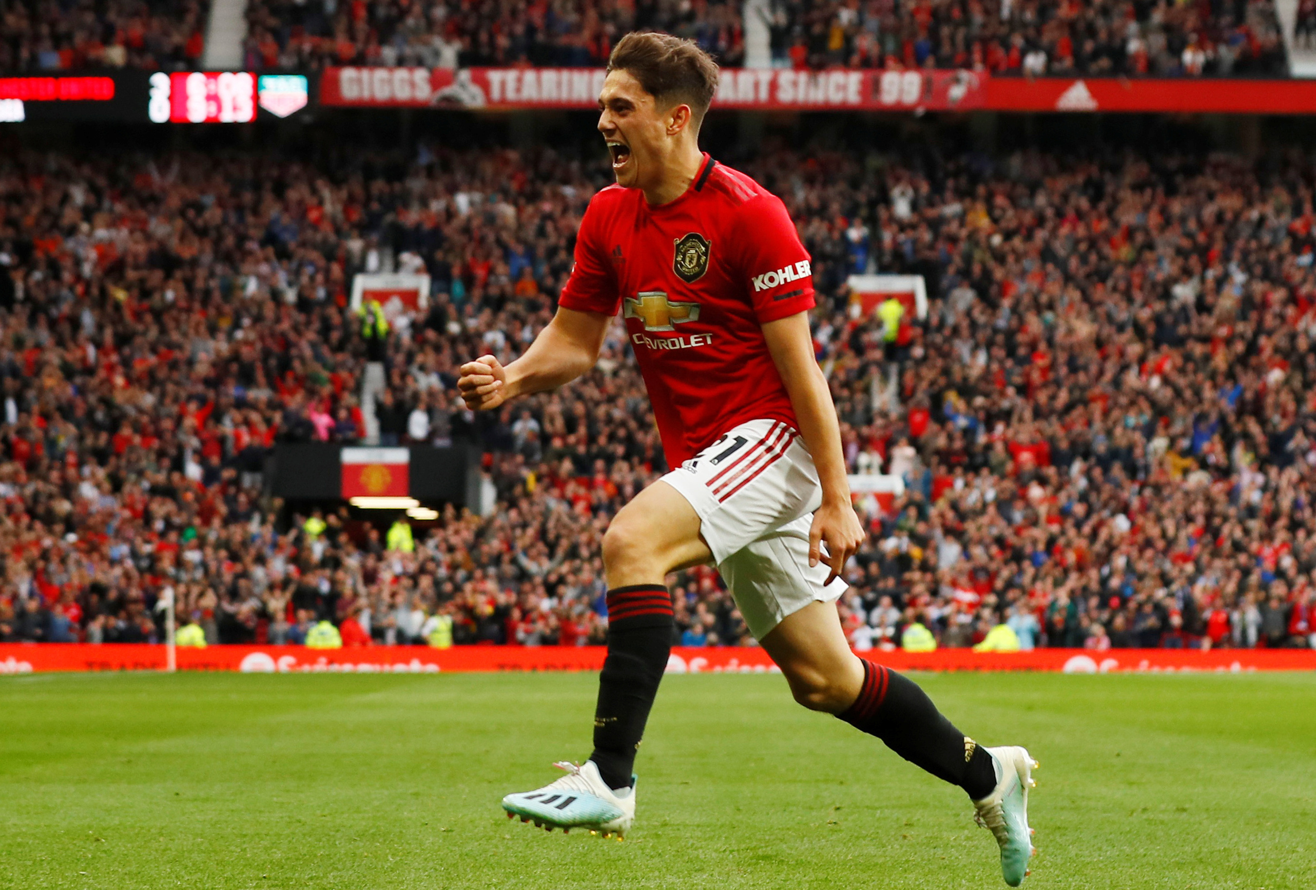 James aims to follow Solskjaer with Old Trafford treble