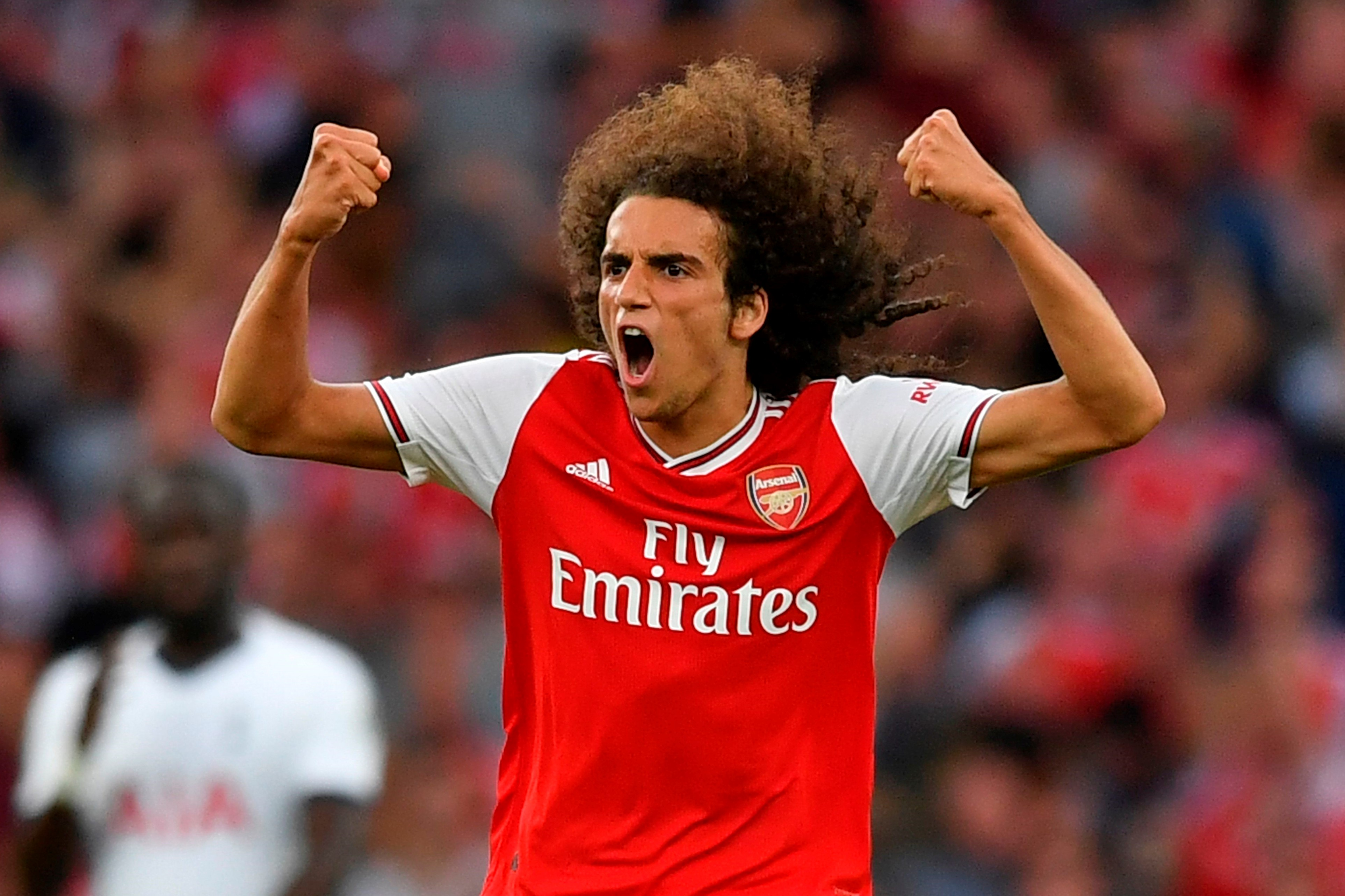 Guendouzi fast becoming Arsenal's leader
