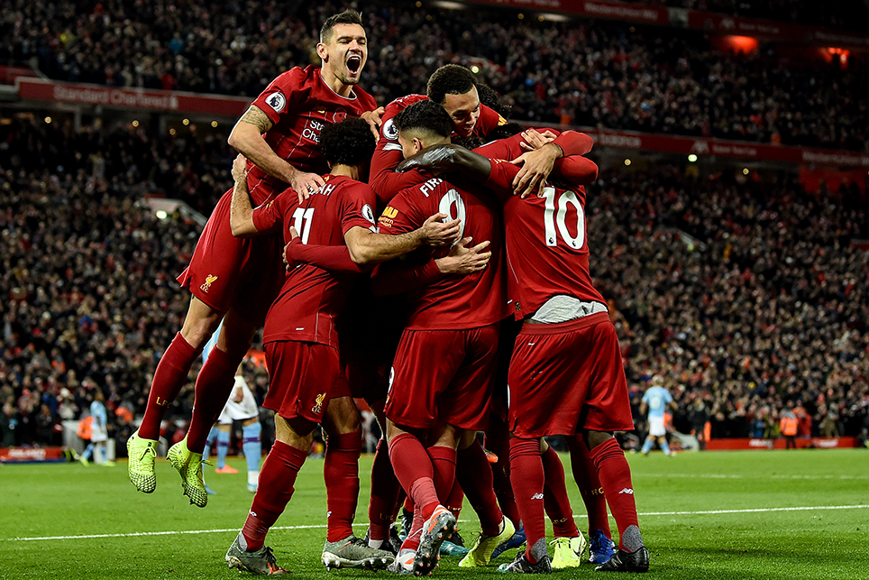 Liverpool aiming to join an unbeaten elite