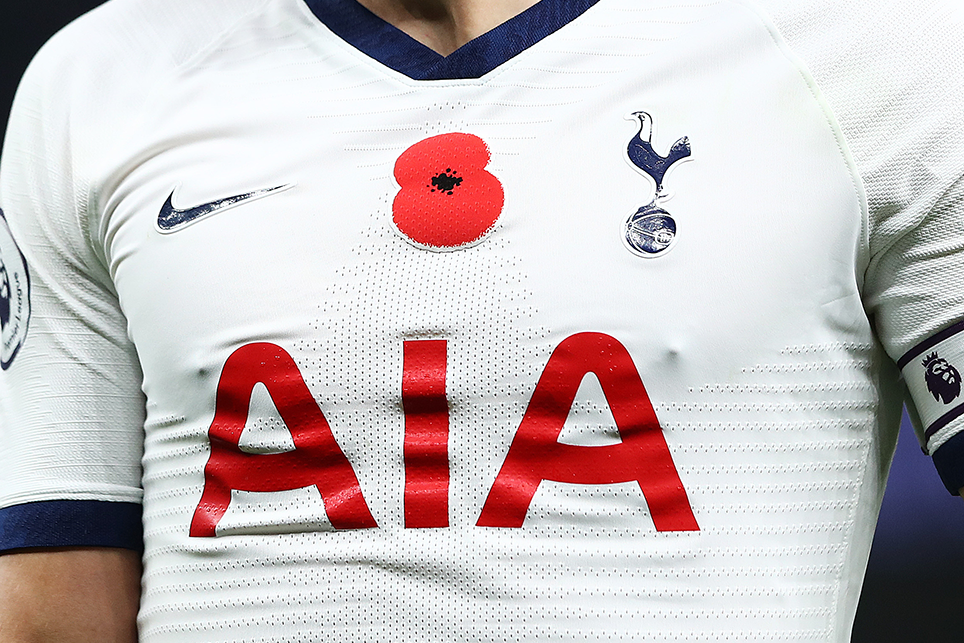 Premier League Poppy Shirts Go Up For Sale