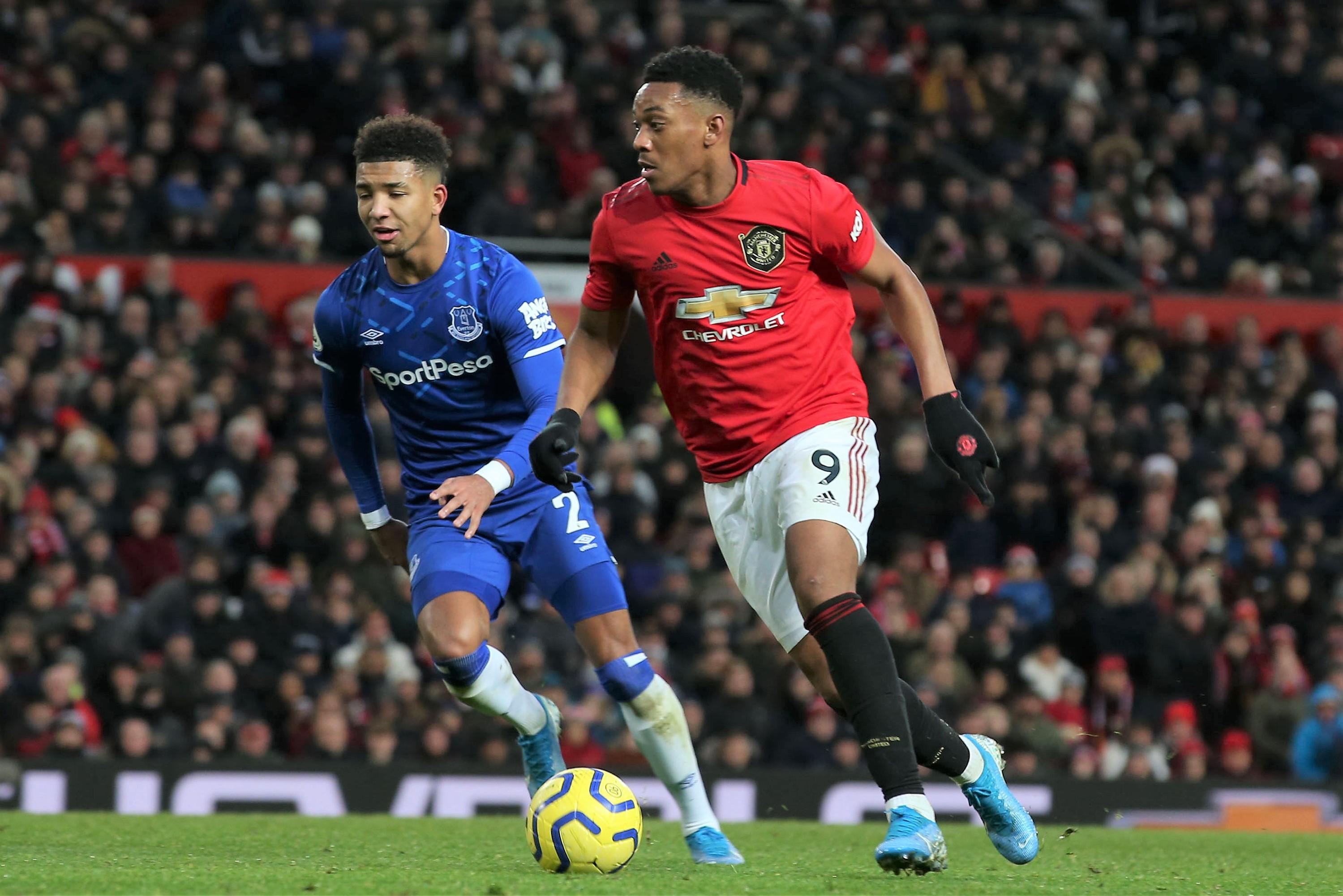 Everton V Man Utd Martial A Doubt