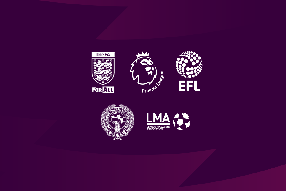 Joint Statement From FA Premier League And EFL