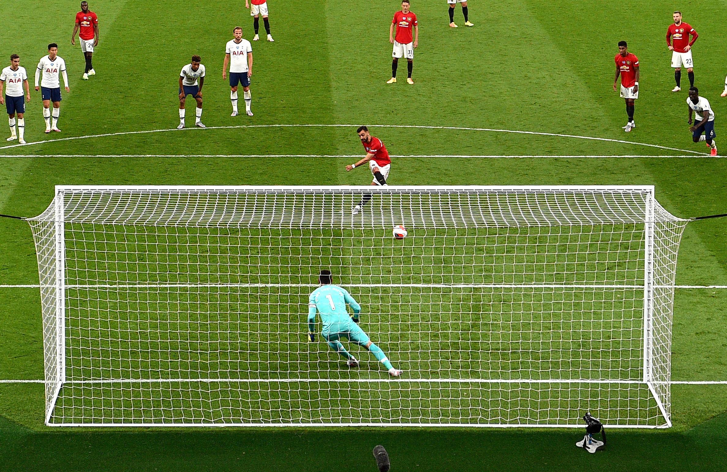 Man Utd Near Record For Most Penalties In A Season