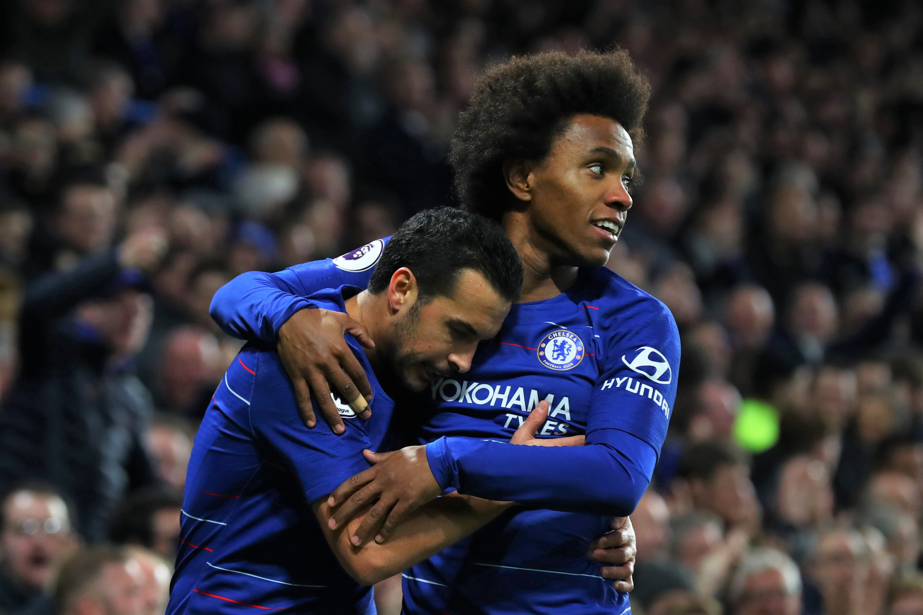 Willian and Pedro: It was an honour to play for Chelsea