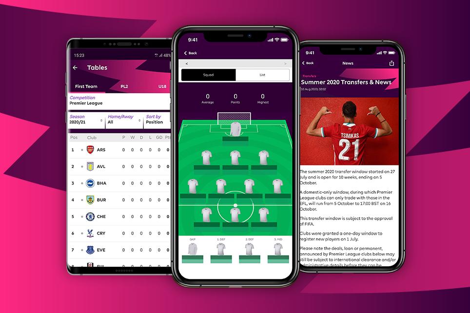 Download the official 2020/21 Premier League app