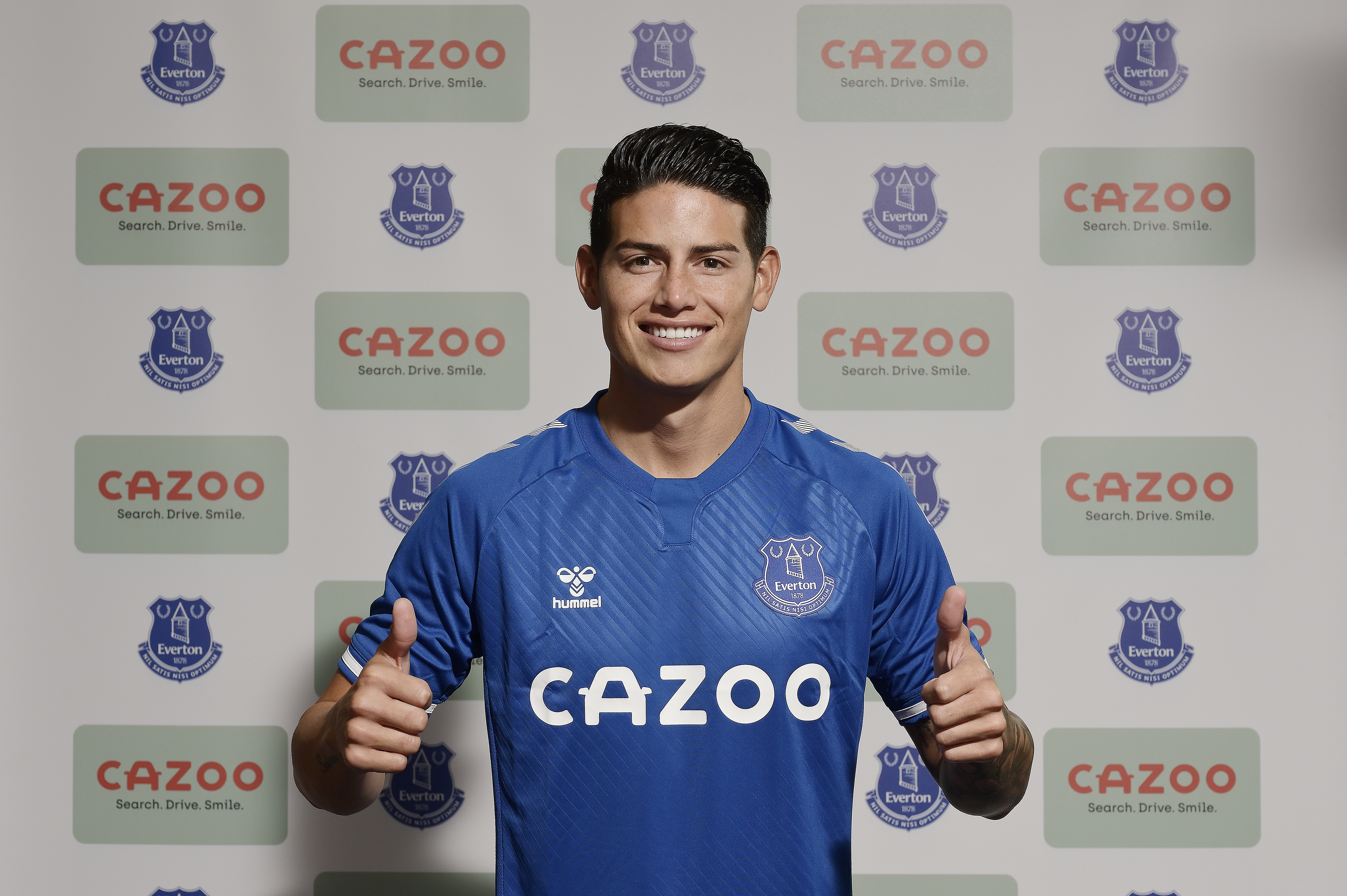 Everton Sign James From Real Madrid