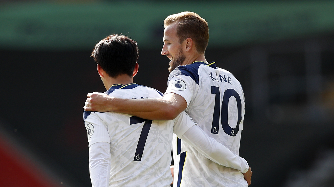 Kane sets up four Son goals as Spurs beat Southampton