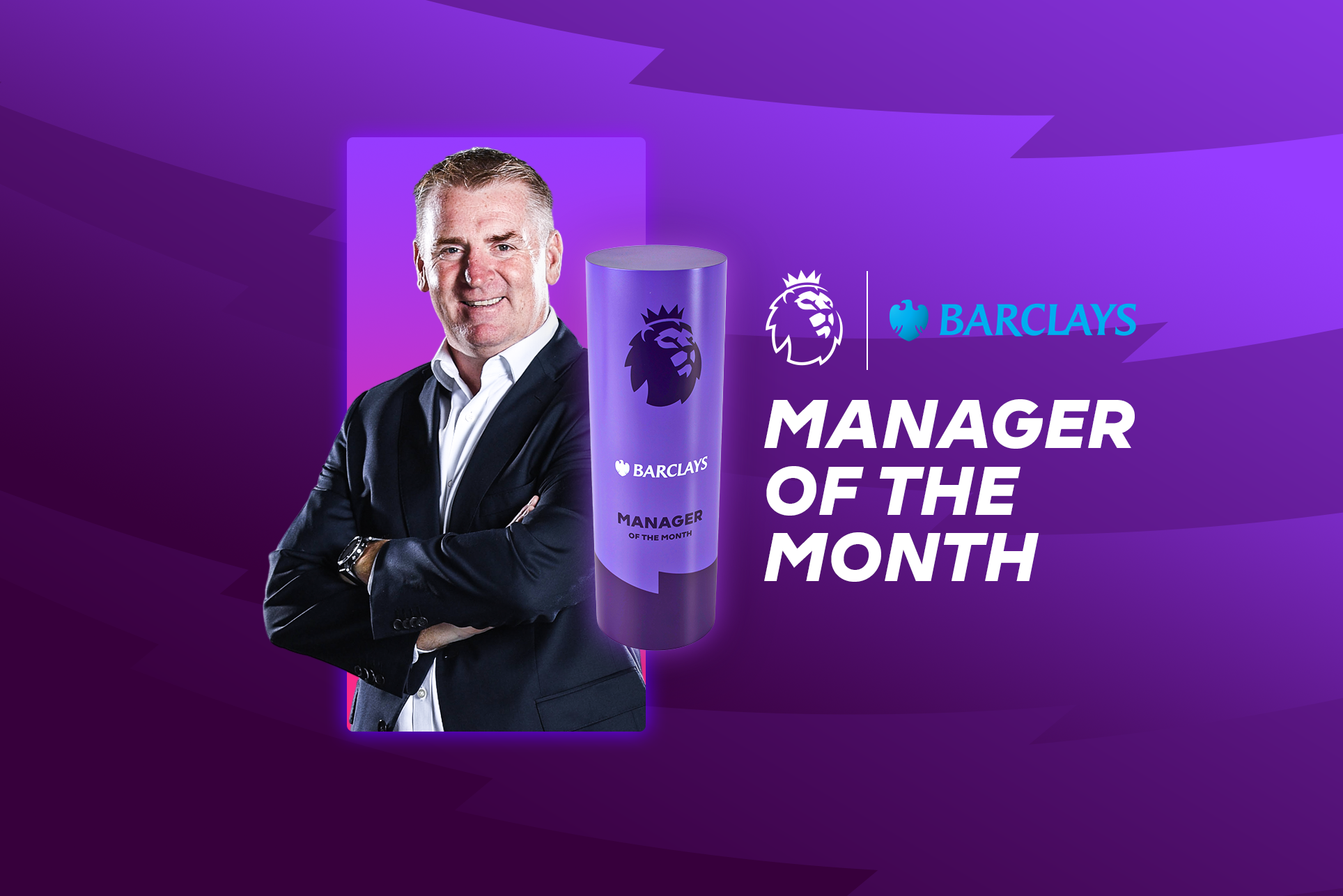 Smith earns Barclays Manager of the Month award