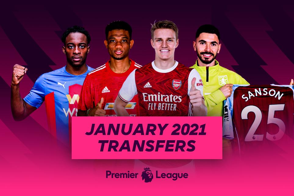 January 2021 Transfer Window Latest News
