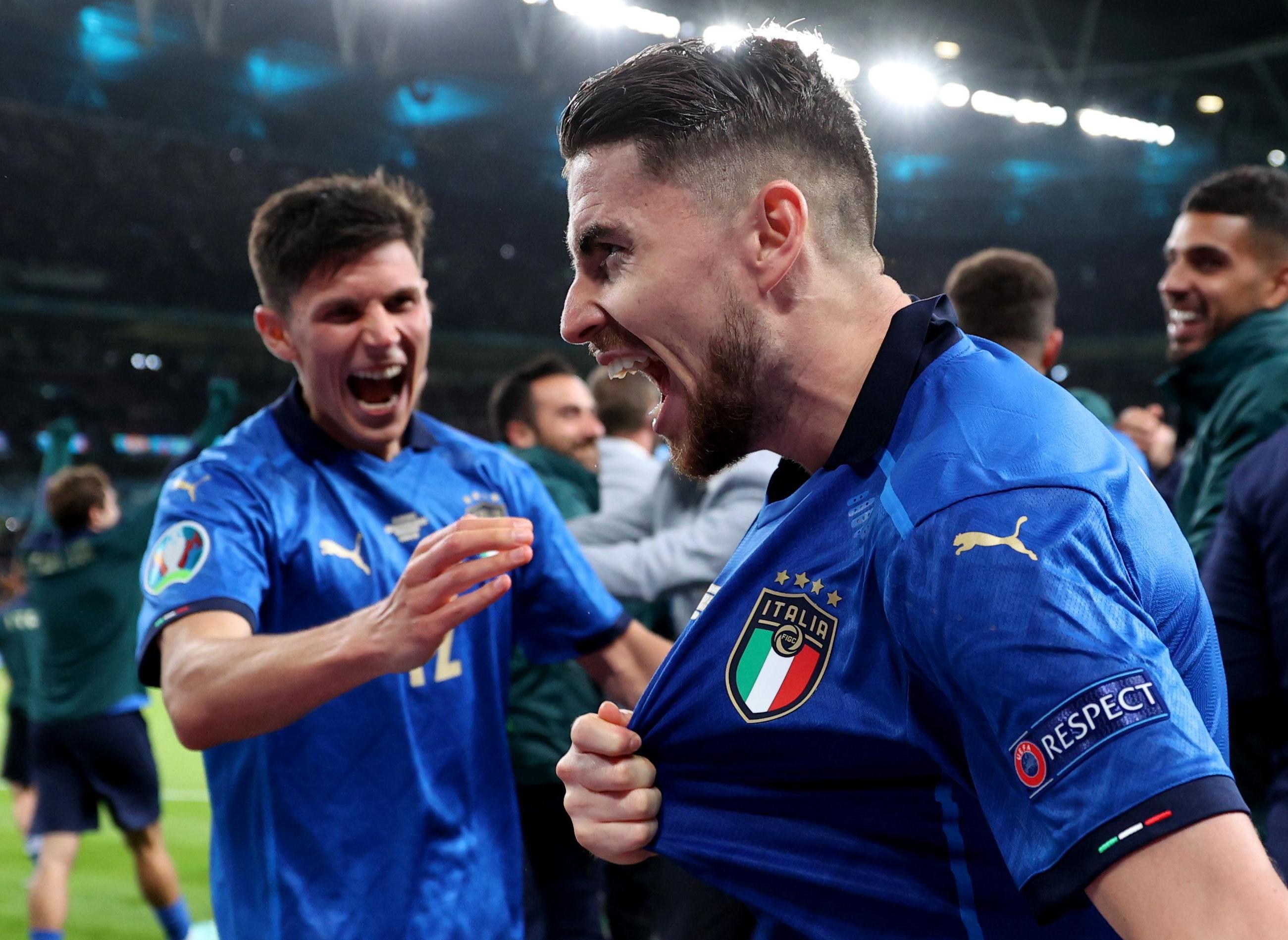 Jorginho the hero as Italy reach Euro 2020 final