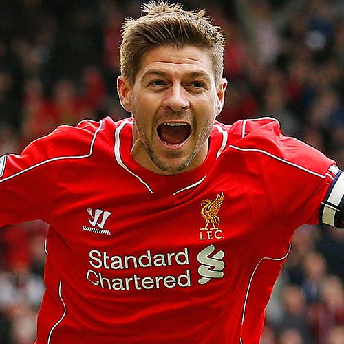 Steven Gerrard Profile, News & Stats | Premier League